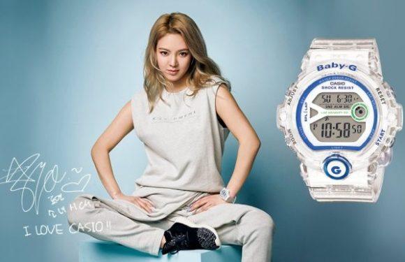 Ngắm trọn 4 mẫu đồng hồ Baby G màu trong suốt đẹp và độc đáo