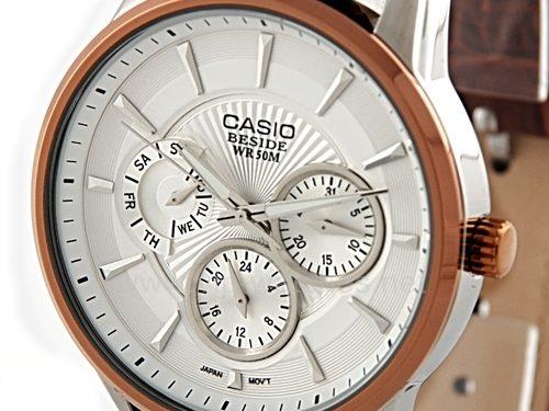 3 Tính năng nổi bật của đồng hồ dây da Casio Beside