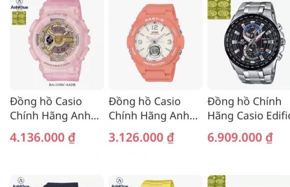 Bật mí cách săn đồng hồ G Shock giá rẻ, chính hãng